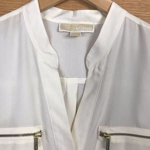 Michael Kors Off-white Blouse